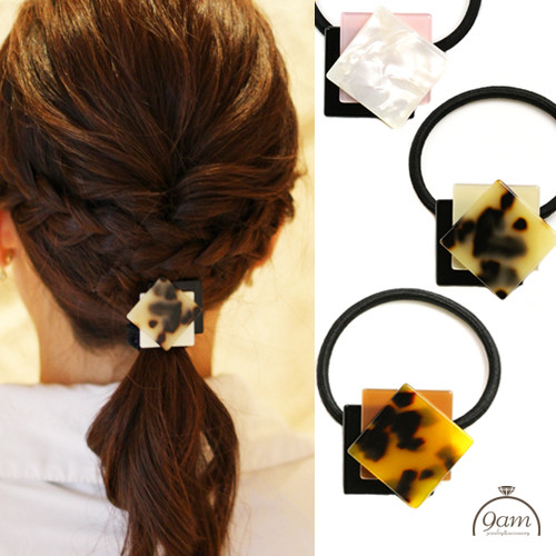bekko square hairaccessory