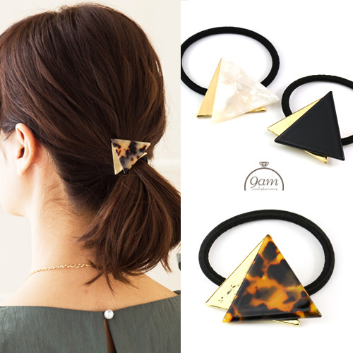 bekko triangle hairaccessory