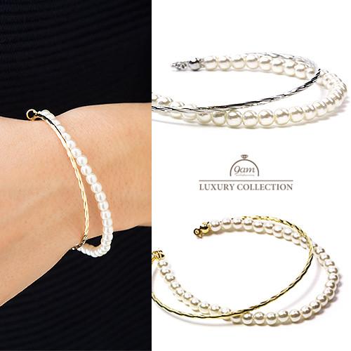 double pearle bracelet