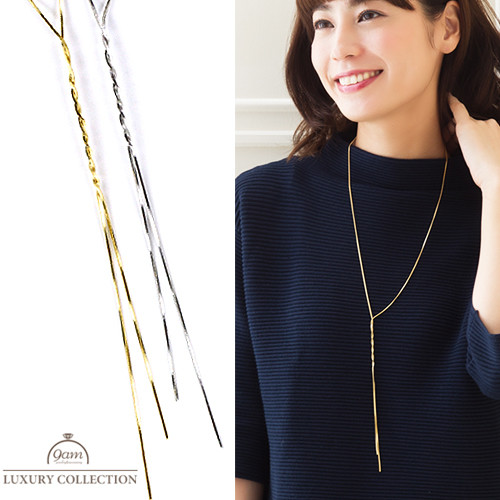 Y style simple necklace