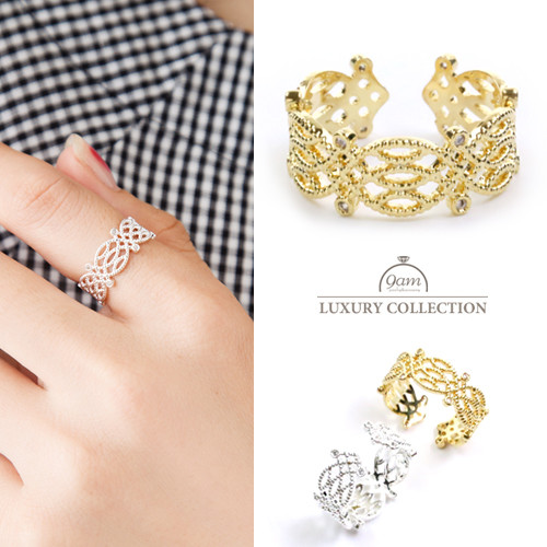 リング シンプル 指輪 ニッケルフリー レース 大人可愛い シンプル レディース ジュエリー デイリー 結婚式 パーティー プレゼント ギフト レディース ジュエリー アクセサリー