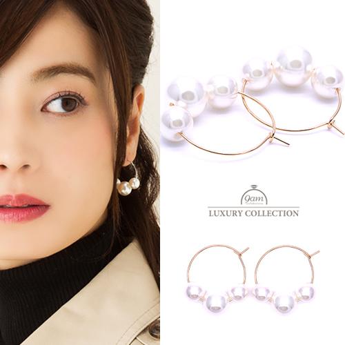 pearl circle pierce