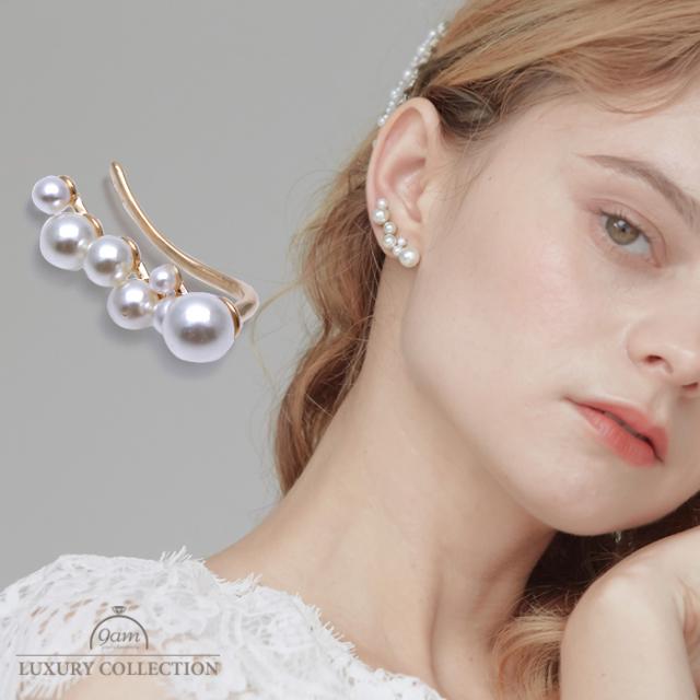 【8月下旬入荷予定】twinkle pearl earcuff
