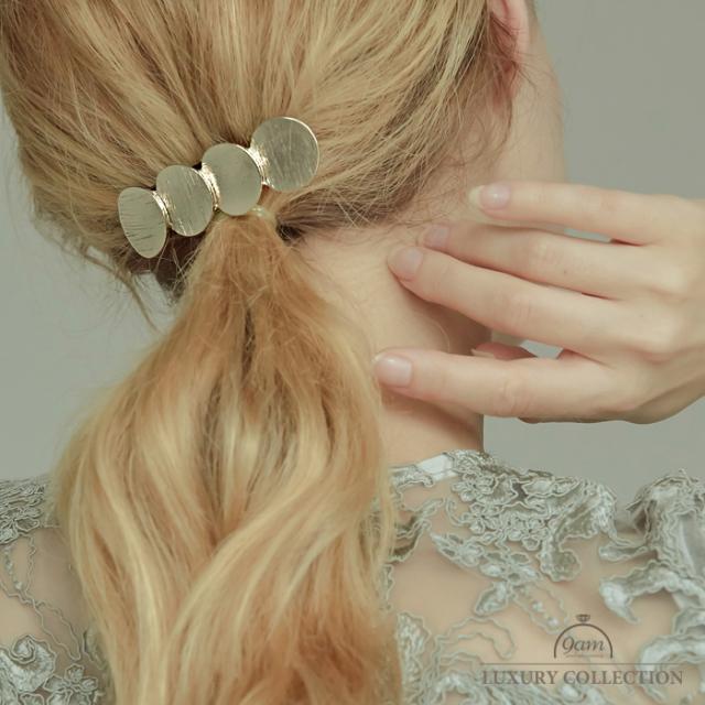 circle hairclip