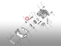 ブレーキキャリパーピストン・フロント/ACデルコ製 アストロ・サファリ