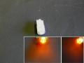 バルブ・LED T10/194型ウエッジ/シングル球オレンジ/2個SET
