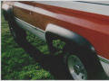 オーバーフェンダーFr2枚SET・Extend-A-Fender/BUSHWACKER製アウトレット