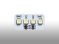 バルブ・LEDルームランプ用/4SMD ホワイト
