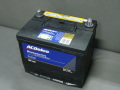 ACDelcoメンテナンスフリーバッテリー・86-7mf