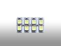 バルブ・LEDルームランプ用/8SMD ホワイト