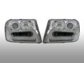 ヘッドライトASSY・リング付インナークロームSET 02-09yトレイルブレイザー