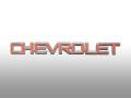 エンブレム・リアネームプレート/CHEVROLET・大・赤/純正 アストロ・エクスプレス・カマロ・コルベット・サバーバン・タホ・トレイルブレイザー