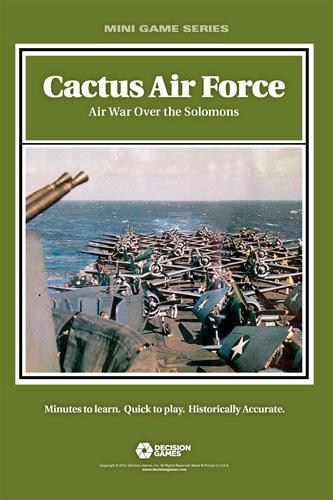 『Cactus Air Force: Air War Over the Solomons』【日本語ルール・カード訳付】