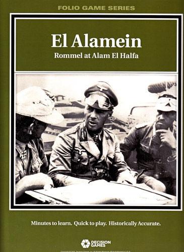 『EL ALAMEIN: Alam el Halfa』【ルール日本語訳付】
