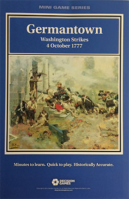 『GERMANTOWN: Washington Strikes, 4 October 1777』【ルール日本語訳付】