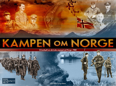 『Kampen om Norge(ノルウェイ戦役)』【日本語ルール・カード訳付】