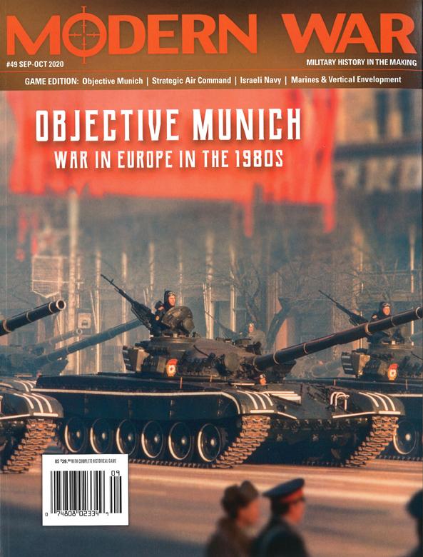 『MODERN WAR #49』【ゲームルールのみ日本語訳付】