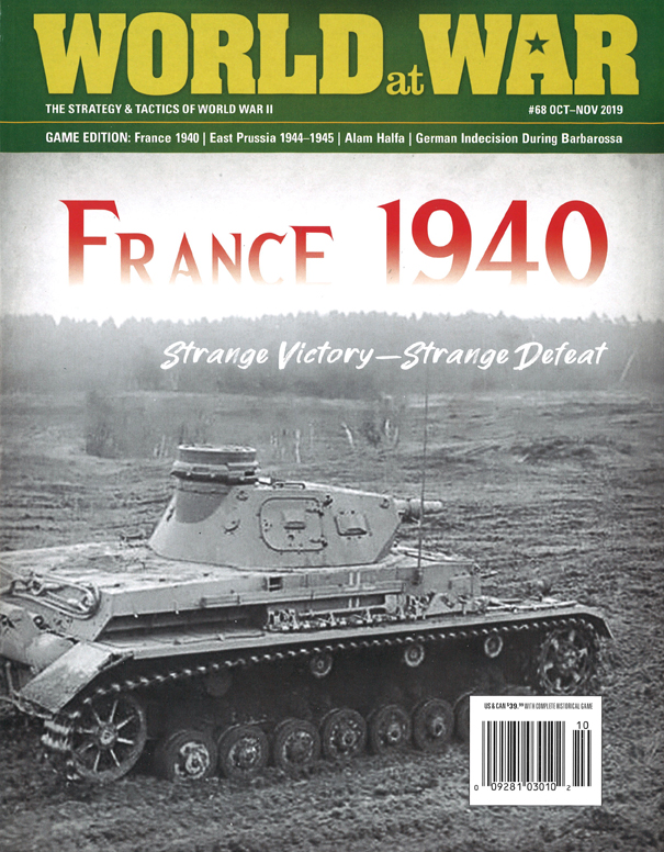 『World at War#68』【ゲームルールのみ日本語訳付】