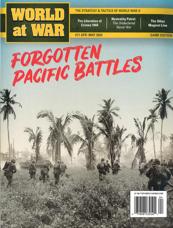 『World at War#71』【ゲームルールのみ日本語訳付】