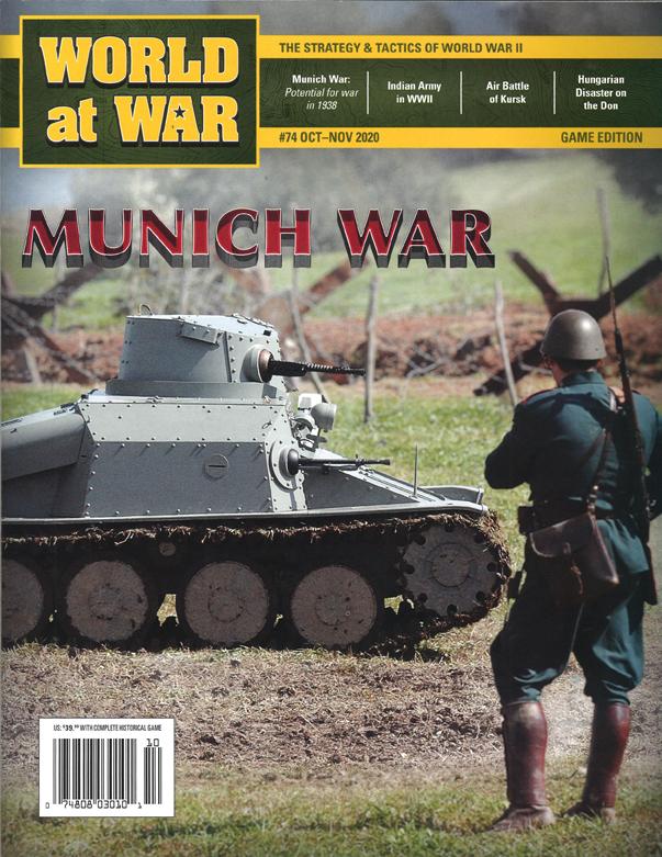 『World at War#74』【ゲームルールのみ日本語訳付】