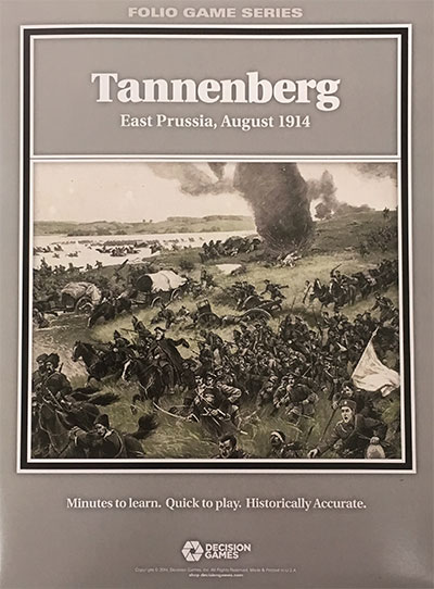 『TANNENBERG East Prussia, August 1914(タンネンベルク: 東プロシア、1914年8月)』【ルール日本語訳付】