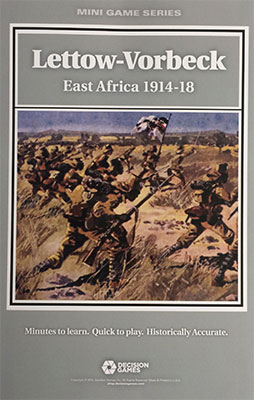 『LETTOW-VORBECK: Campaign in East Africa』【ルール日本語訳付】