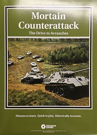 『Mortain Counterattack: The Drive to Avranches』【ルール日本語訳付】