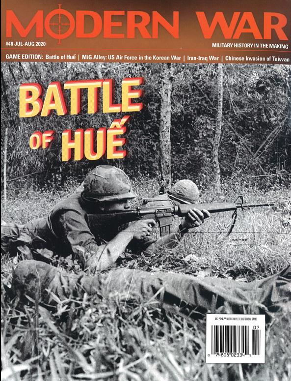 『MODERN WAR #48』【ゲームルールのみ日本語訳付】