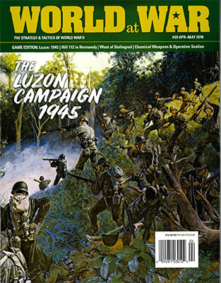 『World at War#59』【ゲームルールのみ日本語訳付】