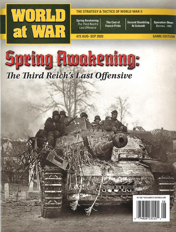 『World at War#73』【ゲームルールのみ日本語訳付】