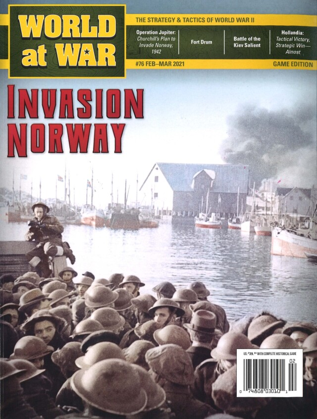 『World at War#76』【ゲームルールのみ日本語訳付】