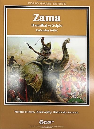 『Zama: Hannib al vs Scipio , 19 Octob er 202BC』【ルール日本語訳付】