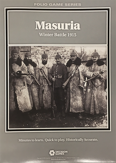 『MASURIA:Winter Battle 1915(マスリア: 冬季戦、1915)』【ルール日本語訳付】
