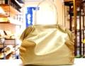 【超軽量チェーントートバッグ】 肩掛けトート ゴールド色 大サイズ 日本製 GirierMore
