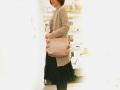《新》【超軽量チェーンショルダートート】 ミディアムサイズ メタリック 桜ピンク色 日本製 Girier More