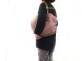 《新色》【超軽量チェーントートバッグ】 肩掛けトート メタリック 桜ピンク色 大サイズ 日本製 Girier More
