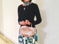 《新色》【超軽量チェーンバッグ】ランチバッグ メタリック 桜ピンク色 GirierMore