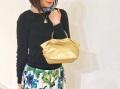 【超軽量チェーンバッグ】ランチバッグ パールゴールド色 GirierMore