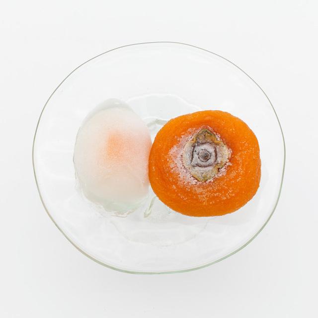 H0269 ひやみつ(冷やし蜜珠柿)×6 柿こーり×8  (冷凍便)