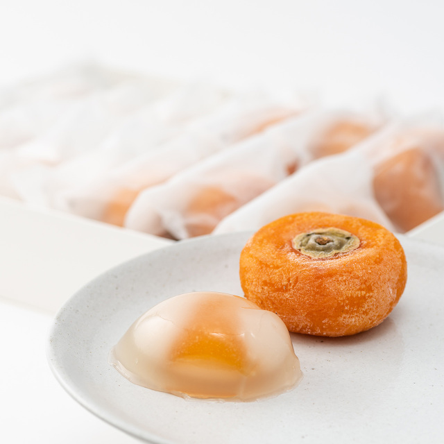 冷やし柿×6 柿こーり×8(冷凍便)