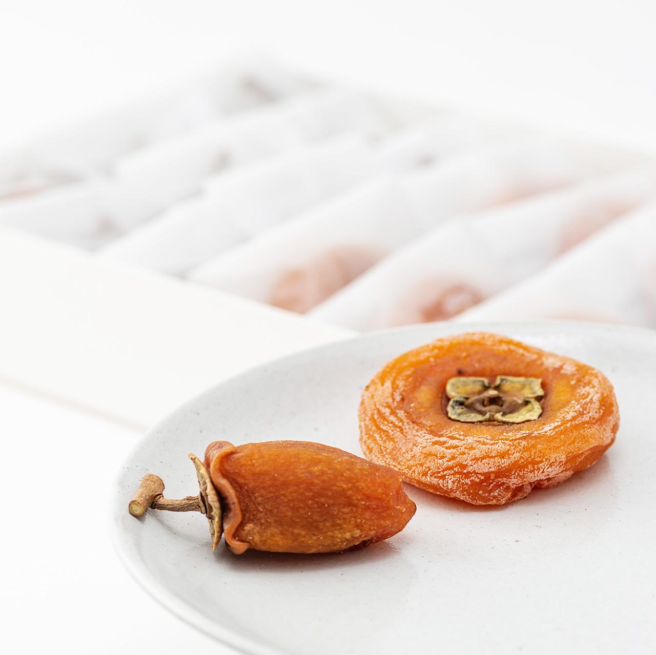 郷愁の柿×9 蜜珠柿×6(5~10月は冷蔵便)