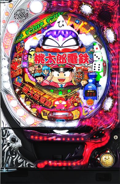 銀座 CRAデジハネ桃太郎電鉄 SV(甘デジ)