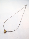 【メール便可】Mexican Skull Necklace MINI-GOLD-