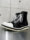 "Hi-cut Sneaker Boots""TOXIC""-WHITExBLACK-"