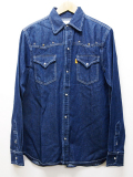 Western Denim Shirts-INDIGO-