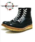 "【X'masFair対象商品12月25日迄】★☆2月下旬お届け予定☆★Lace Up Logger Boots""MASTER PIECE""#7124(Shark Sole)"