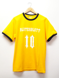 Numbering Ringer Tee-YELLOW-