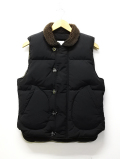 N-1 Deck Down Vest-BLACK-