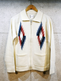 Knit Chimayo Jacket-IVORY-