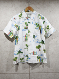 Hawaiian Shirts-WHITE-